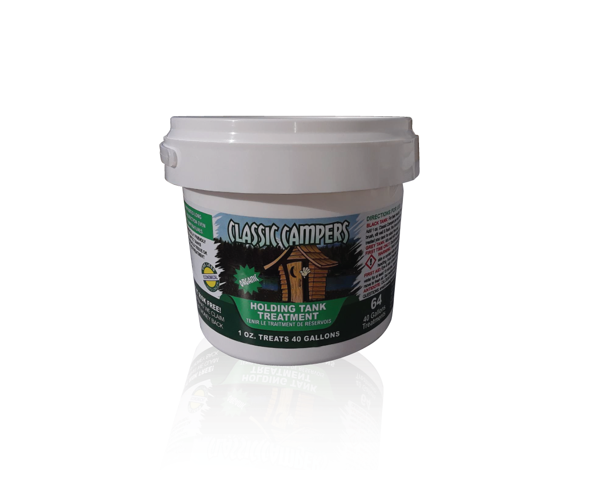 64 oz container of holding tank treatment